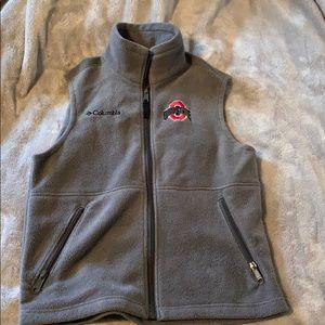 Kids Ohio State University Vest - Fits as W (S)